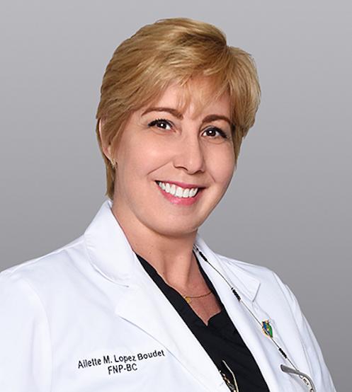 Ailette Lopez Boudet, ARNP, FNP