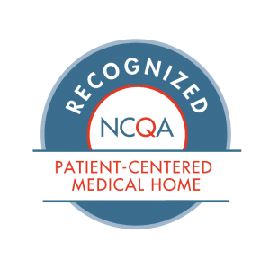 Recognized NCQA Patient-Centered Medical Home (PCMH)